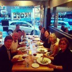 Project Launch Dinner at Sidecar Restaurant